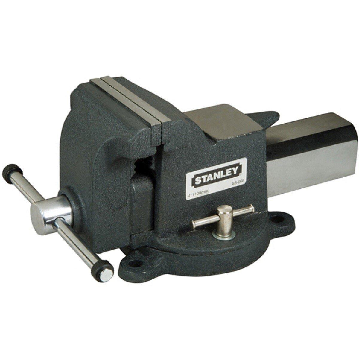 Stanley 1-83-066 MaxSteel Heavy-Duty Bench Vice 100mm (4in) STA183066