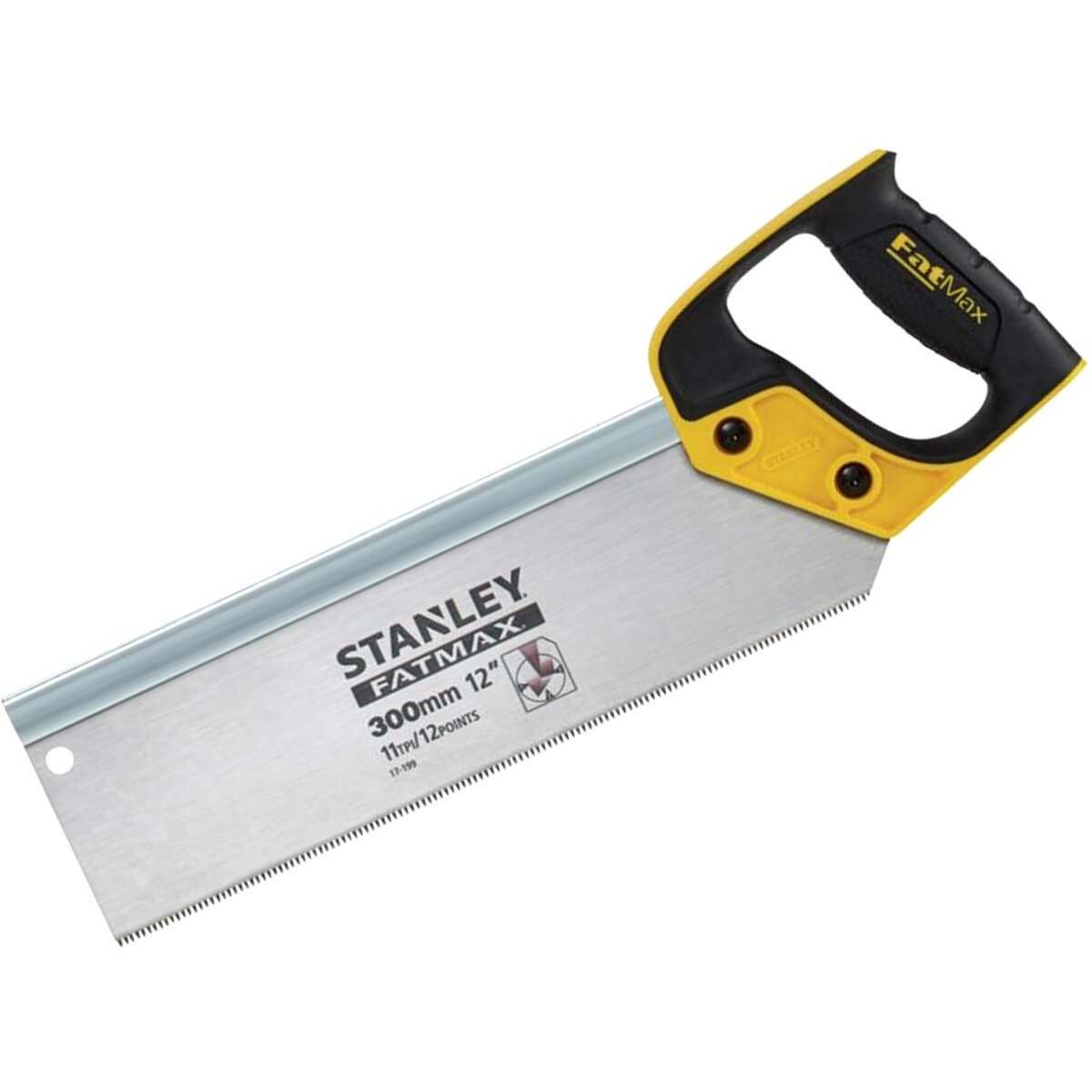 Stanley 2-17-199 FatMax Tenon Back Saw 300mm (12in) 11tpi STA217199