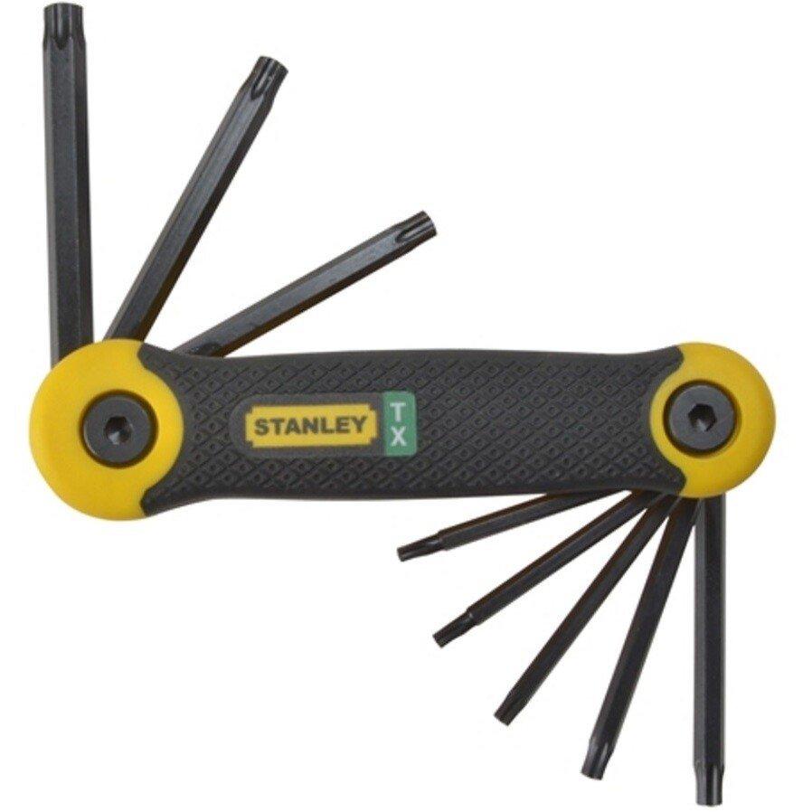 Stanley 2-69-266 Torx Key Folding Set 8 Piece (T9-T40) STA269266