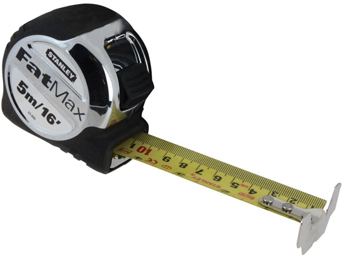Stanley 5-33-886 FatMax Pocket Tape 5m/16ft (Width 32mm) STA533886