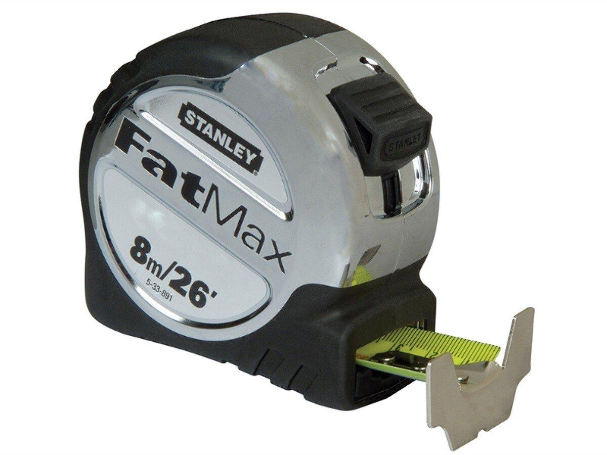 Stanley 5-33-891 FatMax Pocket Tape 8m/26ft (Width 32mm) STA533891