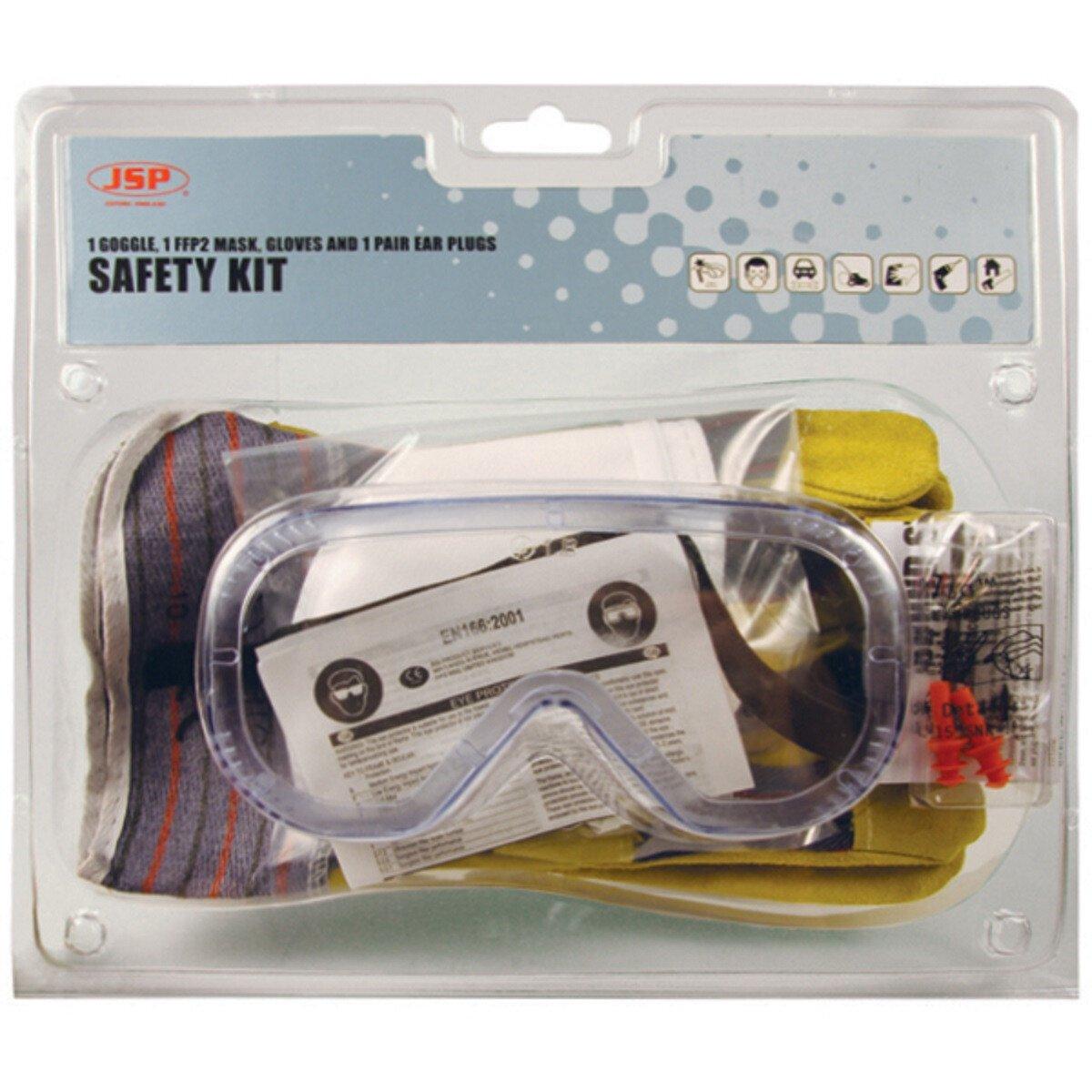 JSP AVC010-000-000 Standard Safety Pack Kit