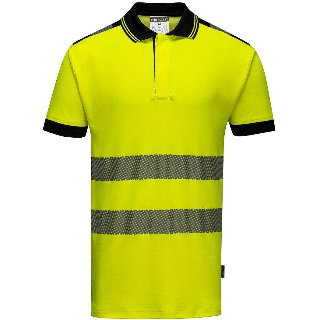 Portwest T180 PW3 Hi-Vis Polo Shirt Short Sleeve - Various Colours Available