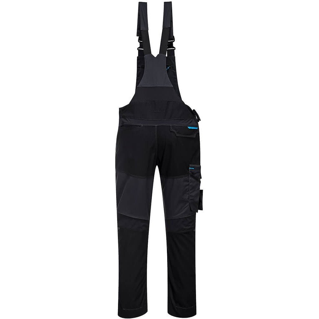 Portwest T704 WX3 Workwear Bib and Brace - Available in Metal Grey & Persian Blue