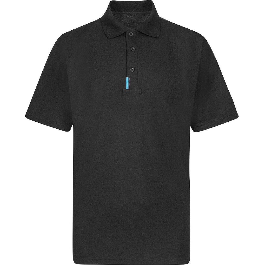 Portwest T720 WX3 Polo Shirt - Black