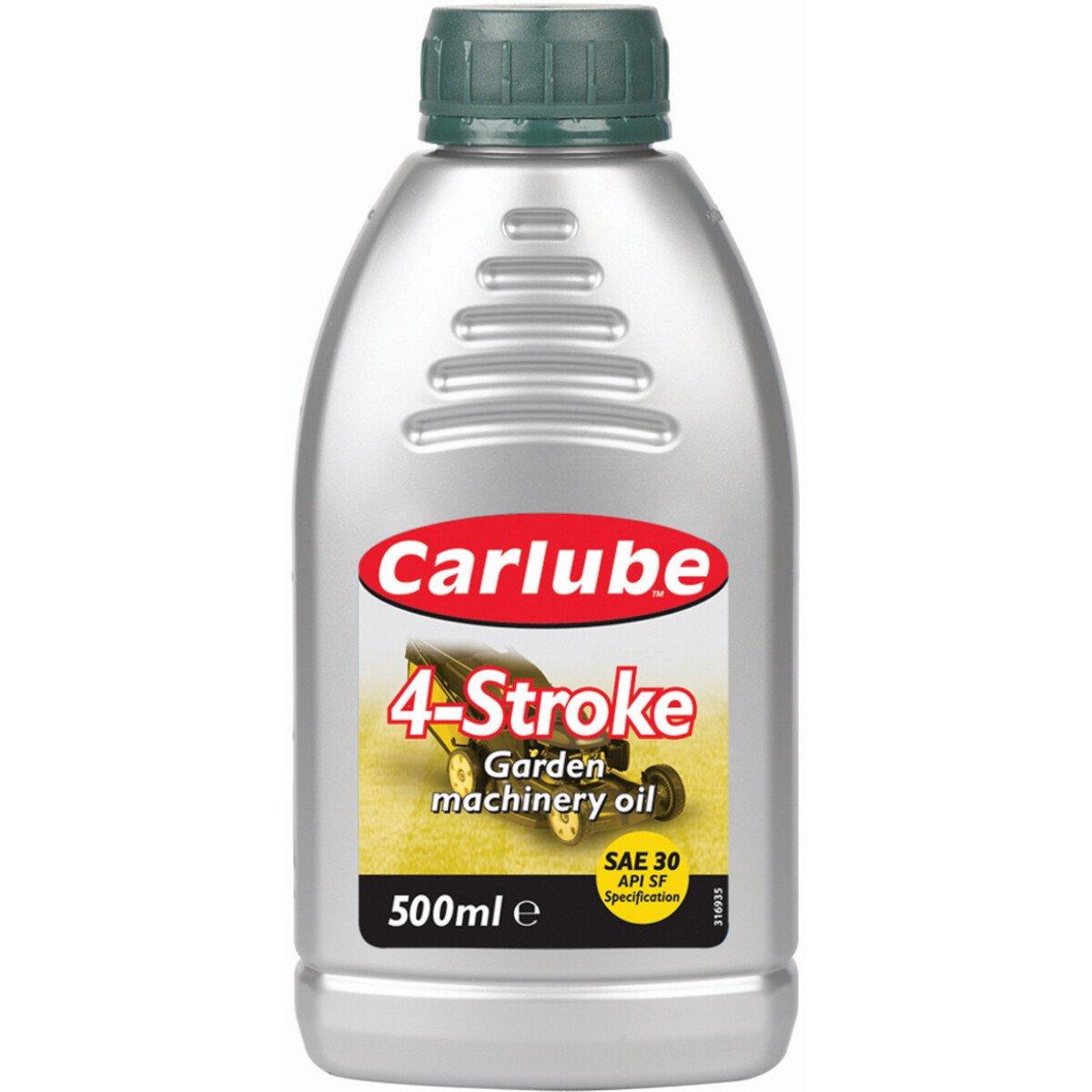 Tetrosyl XLM501 Carlube SAE30 4-Stroke Garden Machinery Oil 500ml