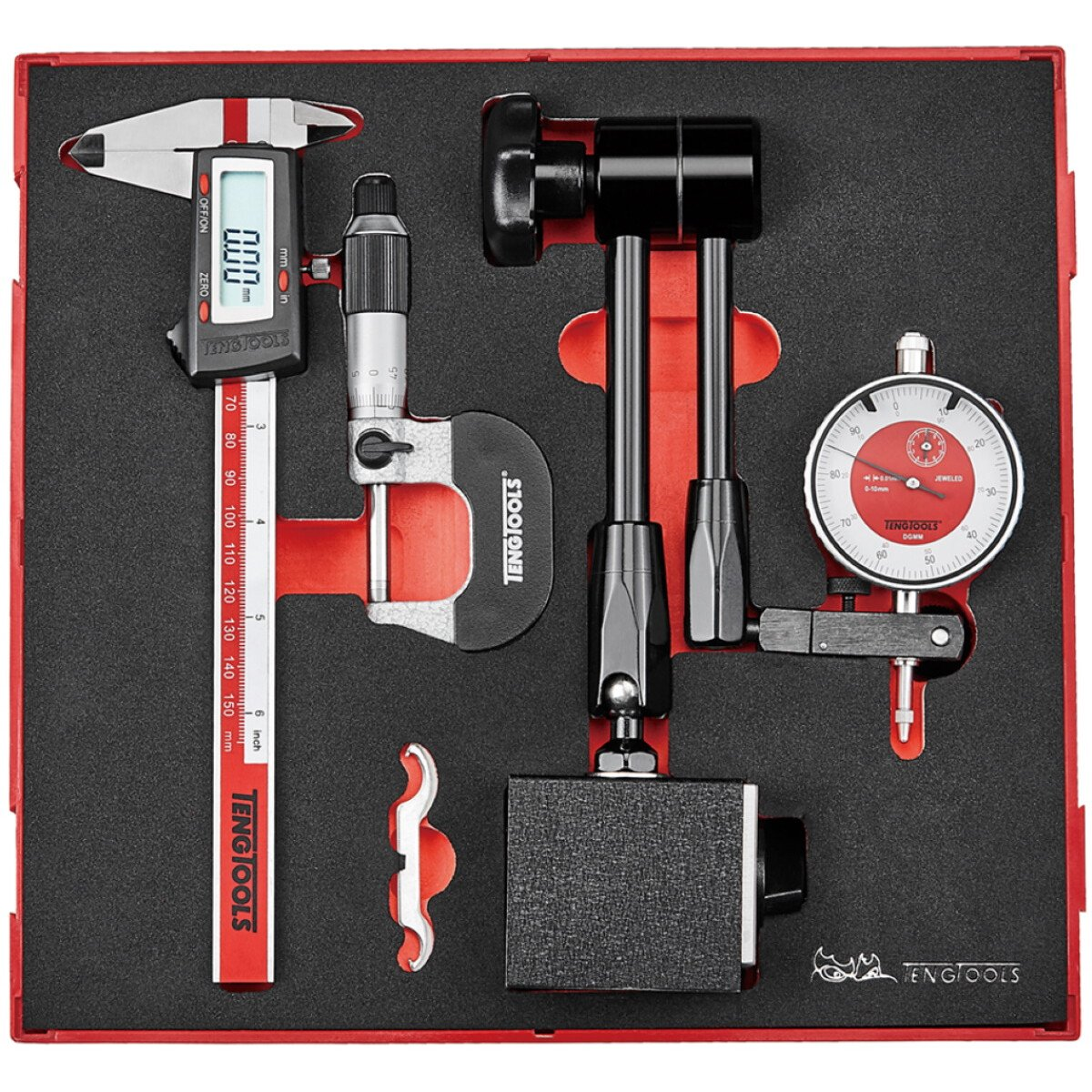 Teng Tools TEDIMM 3 Piece Measuring Tool Set.