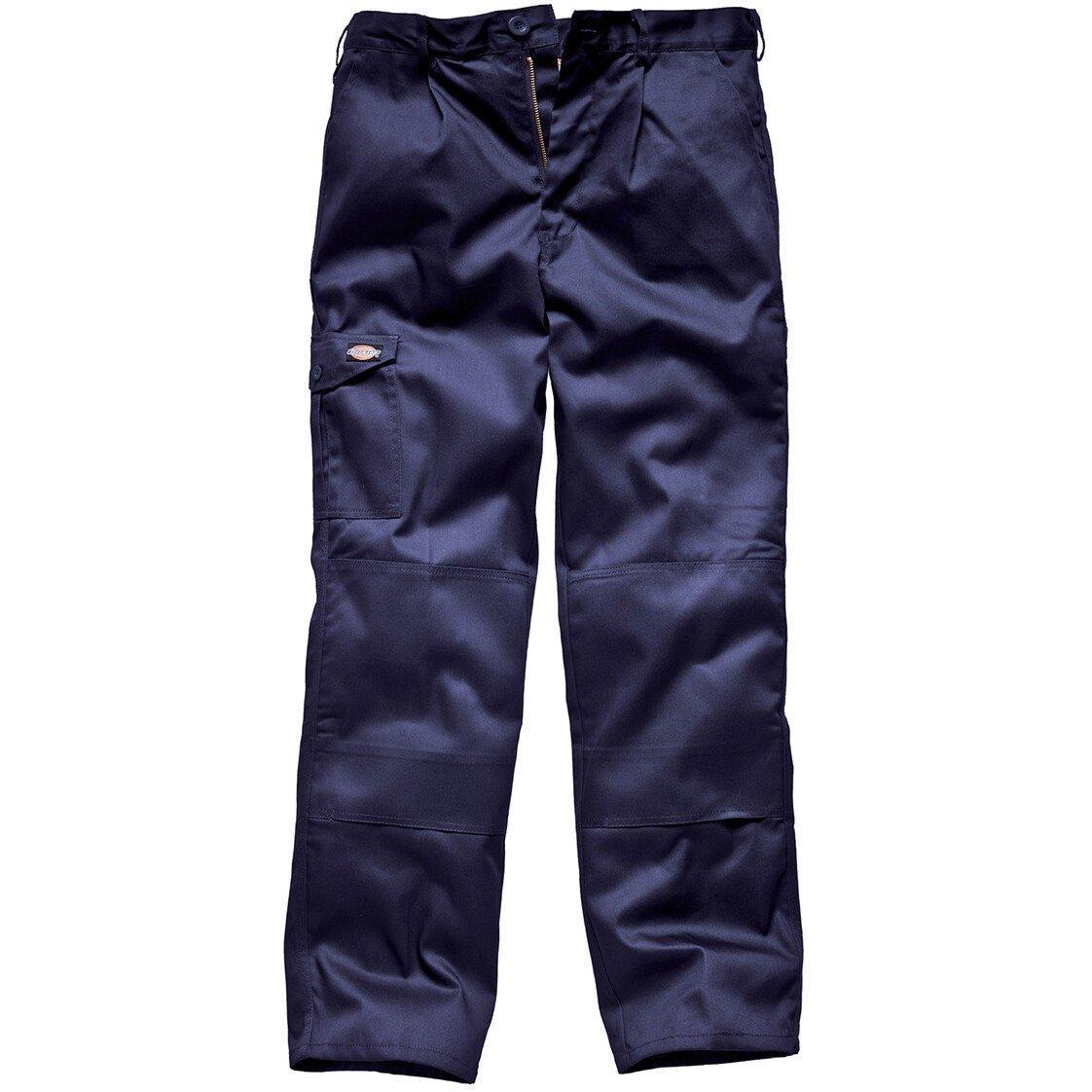 "Dickies WD884 Redhawk Super Work Trousers - Navy Blue - WAIST 48"" Regular Leg"