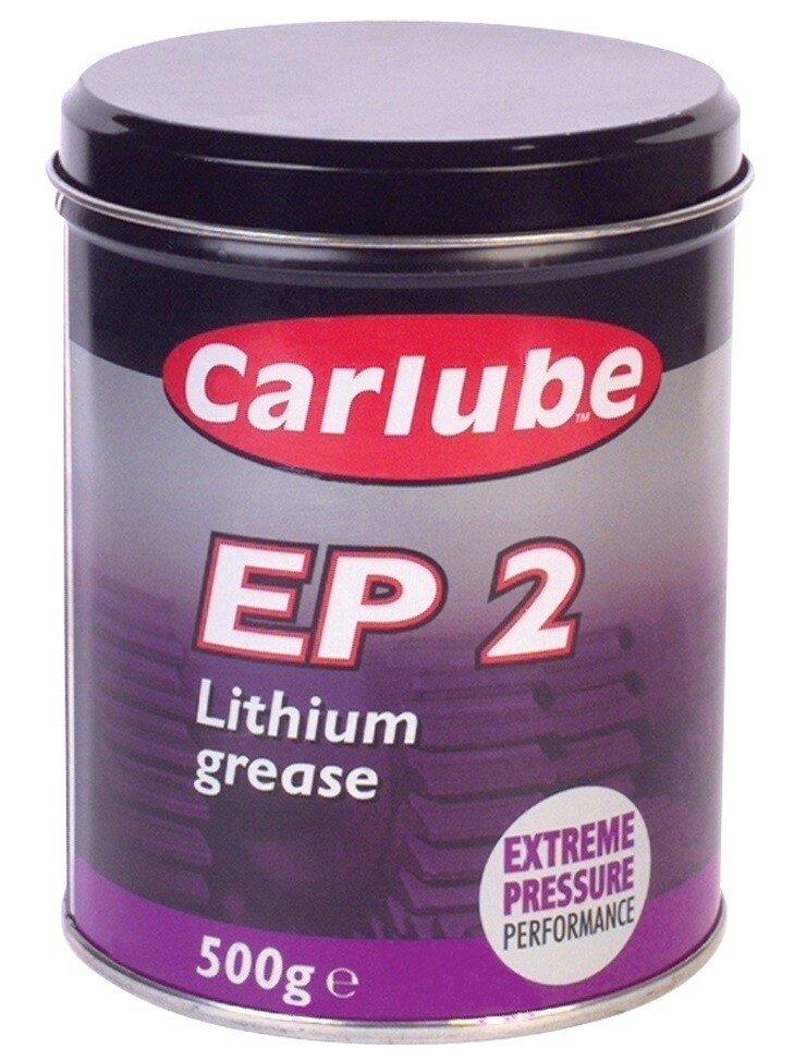 Tetrosyl Carlube XGE500 EP2 Lithium Grease 500gr Tub