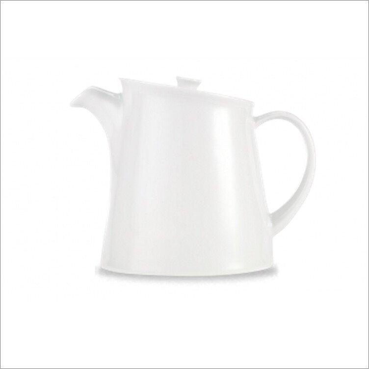 Churchill ZCA POP21 Art De Cuisine White Porcelain Tea/Beverage Pot