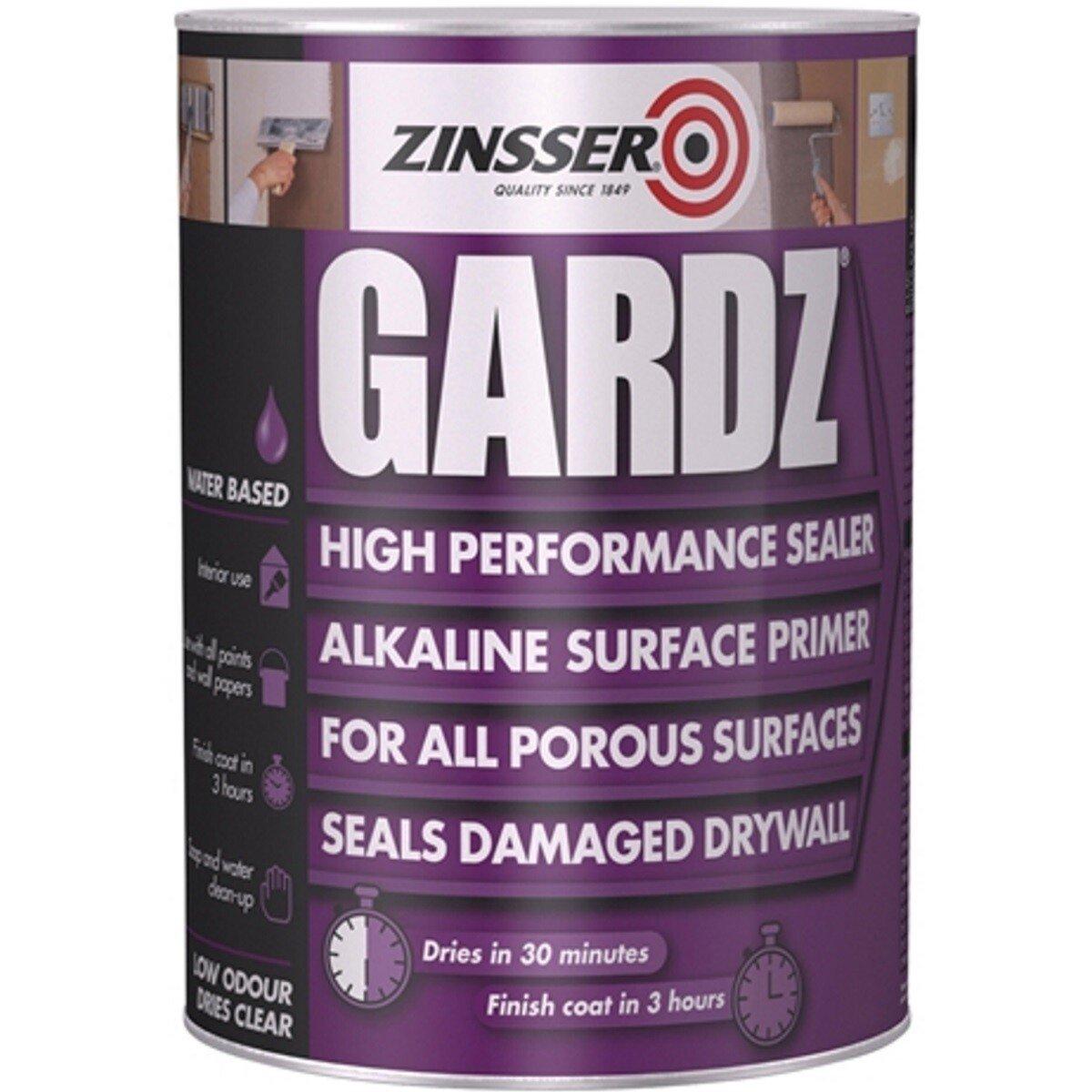 Zinsser ZN7160001D1 Gardz® Clear Sealer Primer 1 Litre ZINGS1L