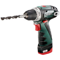Metabo Powermaxx BS Basic 10.8V Drill/Driver with 2x 2.0Ah Batteries in Case