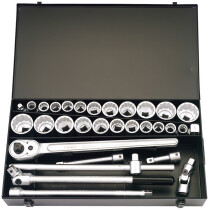 "Elora 770-S22 MAU 31 Piece 3/4"" Square Drive Metric And Imperial Socket Set 00335"