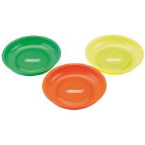 Draper 01097 MPT/B/3 Magnetic Parts Bowl Set 3 Piece