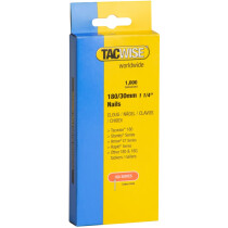 Tacwise 0362 180(18G)/30mm Nails Galvanised (Box of 1000)