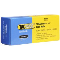 Tacwise 0397 18G/30mm Brad Nails Galvanised (Box of 5000)