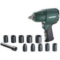 "Metabo DSSW360SET 1/2"" Drive Air Impact Wrench Set with Sockets"