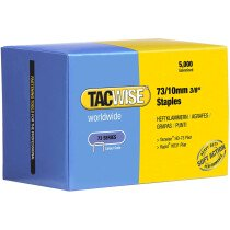 Tacwise 0456 73/10mm Staples Galvanised (Box of 5,000)