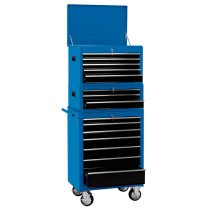 "Draper 04593 *CTCB 26"" Combination Roller Cabinet And Tool Chest (15 Drawer)"