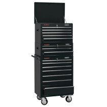 "Draper 04594 *CTCB 26"" Combination Roller Cabinet And Tool Chest (15 Drawer)"