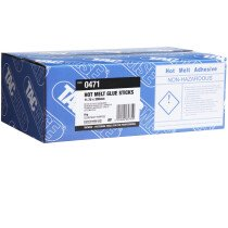 Tacwise 0471 Multi-Purpose Clear Hot Melt Glue Sticks 5kg/160 sticks (Bulk Pack)