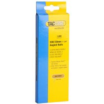 Tacwise 0481 500/30mm 18G Angled Brad Nails Galvanised (Box of 1000)