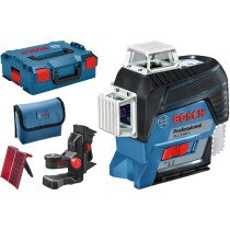 Bosch GLL 3-80 C + BM1 12v Body Only Professional 3 Plane Connected Line Laser in L-Boxx