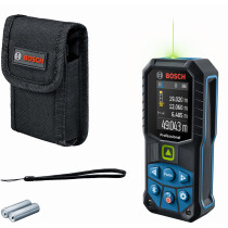 Bosch GLM 50-27 CGBA Laser measure 0.05 - 50M Green Beam Bluetooth connectivity 360° inclination sensor