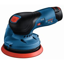 Bosch GEX 12V-125 NCG 12v Body Only 125mm BRUSHLESS Random Orbit Palm Sander in L-Boxx