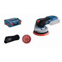 Bosch GEX 18V-125 NCG 18v Body Only 125mm BRUSHLESS Random Orbit Palm Sander in L-Boxx
