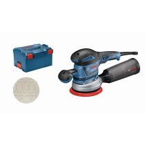 Bosch GEX 40-150 340W 150mm Random Orbital Sander in L-BOXX 230v