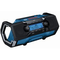 Bosch GBP 18 V-2 SC 18v Body Only / 230v Jobsite Bluetooth / DAB Radio Connection Ready in Carton