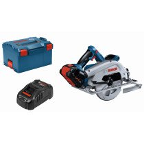 Bosch GKS 18V-68 C 18v BITURBO BRUSHLESS Circular Saw 190mm Connected (1 x 5.5Ah ProCORE18V Battery) in L-Boxx