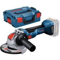 "Bosch GWX 18 V-10L 18v Body Only 5"" / 125mm BRUSHLESS X-LOCK Angle Grinder in L-Boxx"