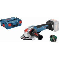 """Bosch GWX 18V-10 PSC 18v Body Only BRUSHLESS X-LOCK 125mm / 5"""" Angle Grinder Connection Ready in L-Boxx"""