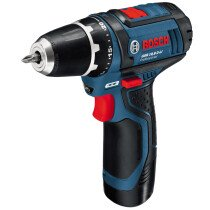 Bosch GSR 12V-15 12V Drill/Driver with 2x 2.0Ah Batteries in L-Boxx