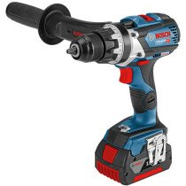 Bosch GSR 18V-85 C 18V Drill / Driver with 2x 5.0Ah Batteries in L-Boxx - Connection Ready