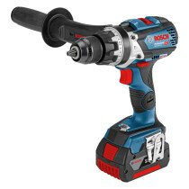 Bosch GSB 18V-85C1 + GCY 30-4 18V Combi Drill with Connectivity Module and 2x 5.0Ah Batteries in L-Boxx