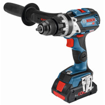 Bosch GSB 18V-110 18v BRUSHLESS 2 Speed Combi Connection Ready 2 x 5.0Ah Batteries in L-Boxx
