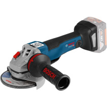 "Bosch GWS 18 V-10 PC 18v Body Only 5""/125mm Connection ready Angle Grinder with Paddle Switch in Carton"