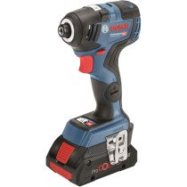 Bosch GDR 18 V-200 C 18v Impact driver in L-BOXX with 2 x ProCORE18V 4.0 Ah