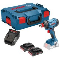 Bosch GDX 18 V-180 18V Impact Wrench 2x2.0Ah Batteries in L-Boxx