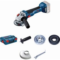 "Bosch GWS 18 V-115L 18V Body Only 4 1/2"" / 115mm BRUSHLESS Angle Grinder in L-Boxx"
