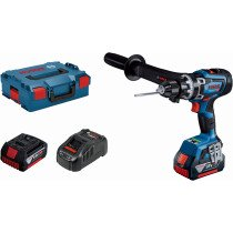 Bosch GSB 18V-150 C 18v BRUSHLESS BITURBO Connected Combi Drill (2x8.0Ah ProCore) in L-Boxx