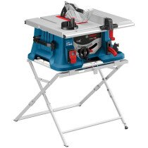"""Bosch GTS 635-216 8"""" Table Saw Complete with Sliding Carriage 230v with Stand"""