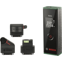 Bosch ZAMO3 Set Laser Measure 0.15-20.00m with 3 Adapters