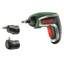 Bosch IXO V UPGRADEF 3.6V New Screwdriver with Angle & Off-Set Screw Adapter