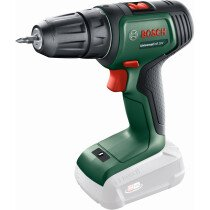 Bosch UniversalDrill 18V Classic Green 18v Body Only Two Speed Drill Driver in Carton