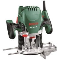 "Bosch POF 1200 AE 1200W 1/4"" & 8mm Plunge Router"