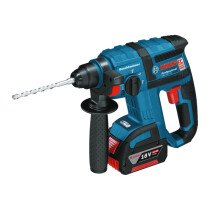 Bosch GBH18V-EC 18V Brushless SDS Hammer with 1x5.0Ah Battery in L-BOXX